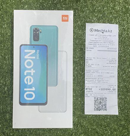 Новый, запечатанный! Xiaomi Redmi Note 10 128GB Ломбард ТехноАқша 2705