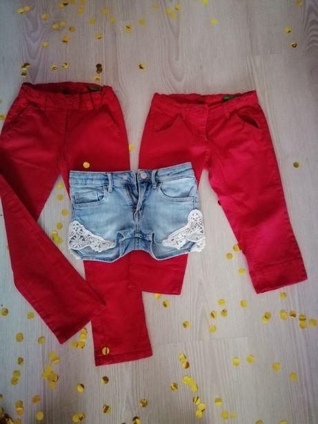pantaloni fetite BENETON si H&M