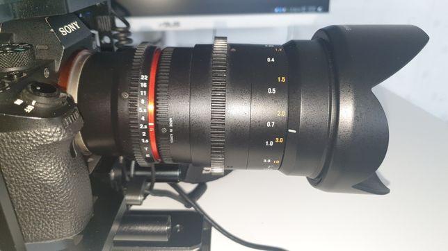 Samyang 35mm F1. 5 Cine Lens Sony E mount