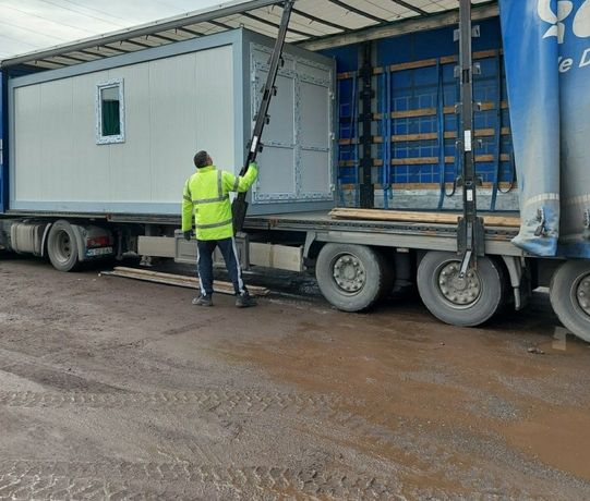 Vand containere container