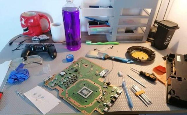 Reparatii Console | Modari |Curatare | Mentenanta etc .