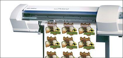 Печат на стикери от PVC фолио - мат или гланц