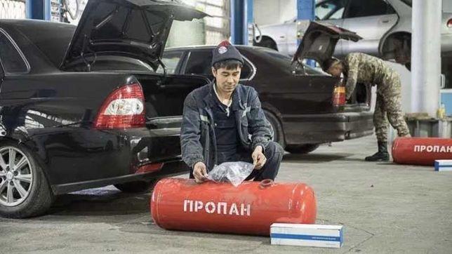 ГБО установка Шымкент Автогаз установка
