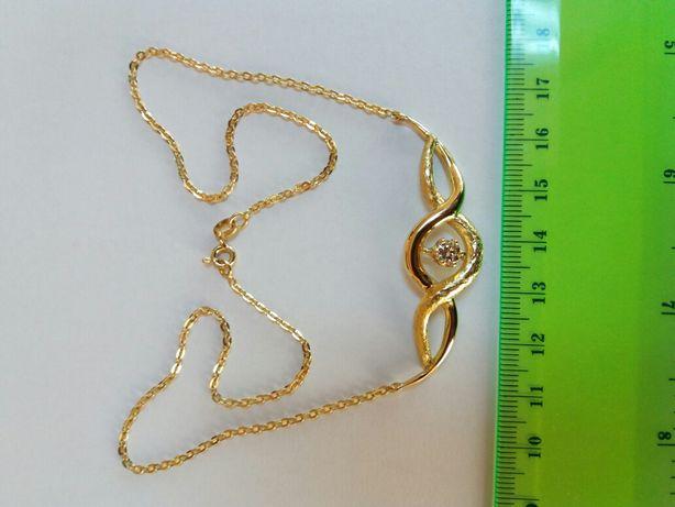 Colier aur si diamant 0,50 ctw./G/VVS1 (cod AMV 019)