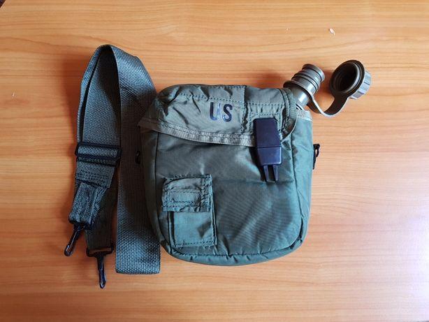 Plosca/bidon militar US 2L cu husa