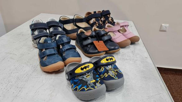Нови Детски обувки сандали Lamino , Naturino , Pepino  , Primigi