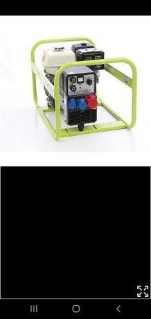 Inchiriez generator cu aparat de sudura incorporat