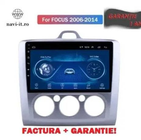 Navigatie Ford Focus 2 2006-2014 1+16 GB, ANDROID 10!