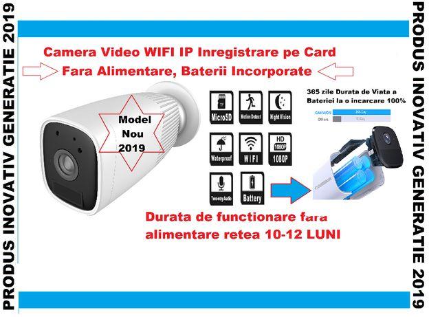 Camera Video cu Acumulatori de Supraveghere WIFI IP (Internet LIVE) AP