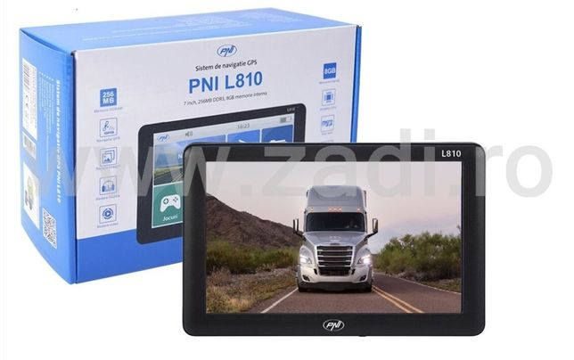"""Gps camion-model foarte rapid-harti noi-ecran mare lcd 7"""""""