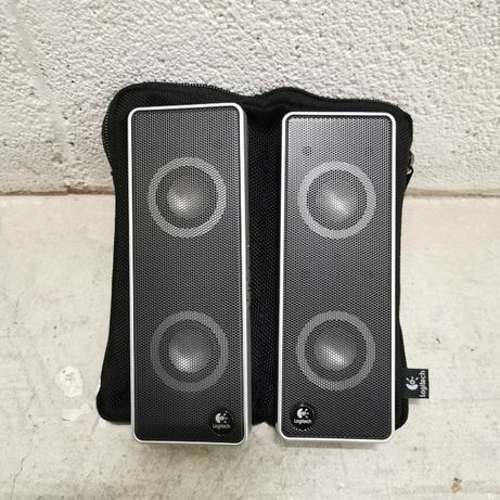Logitech V10 Notebook Speakers (Black/Silver) (S-0194B)