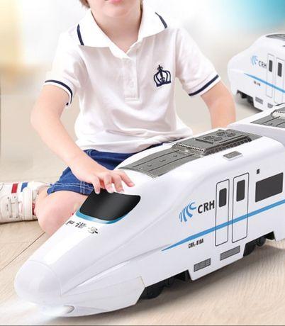 Игрушечный скоростной поезд/игрушка/поезд/подарки/доставка бесплатно