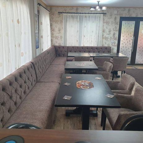 Mobilier restaurant, cafenea, bistro, fastfood,Canapele, fotolii, mese