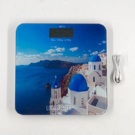 Весы напольные (электронные) до 180кг (USB)
