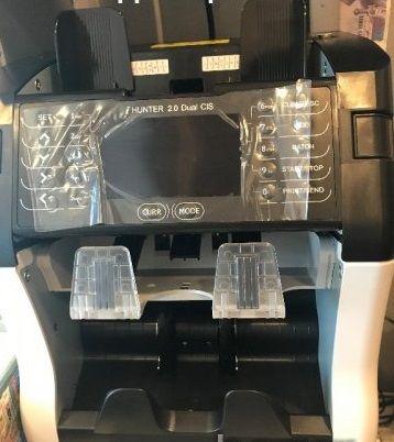 Машина за броене на пари HUNTER 2.0 DUAL CIS