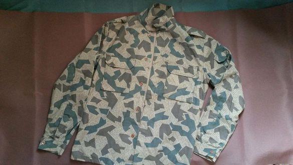 Оригинално маскировъчно яке/риза от българската армия