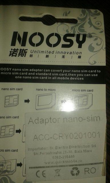 Adaptor nano sim set 3 buc