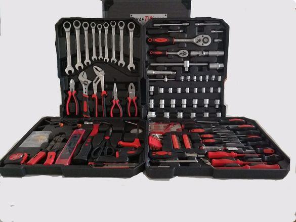 Немски Куфар Kraft Германия F Tools с Инструменти 429