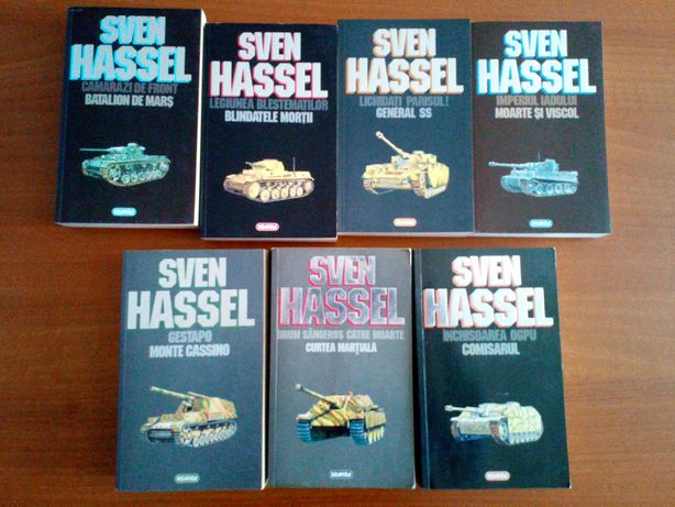 Sven Hassel - Opere complete (7 volume, 14 titluri)