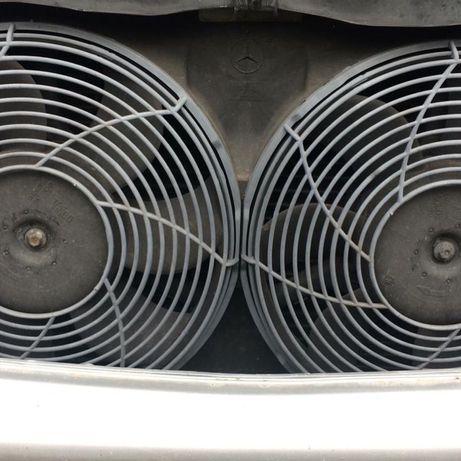 Вентилятор охлаждения Мерседес W163.