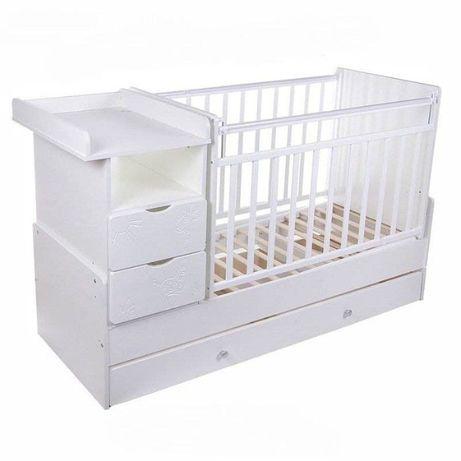 Детский кровать трансформер манеж Жираф СКВ 5 кровати манежи Алматы