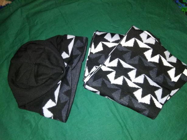 Шапка с шарфом набор за 1800
