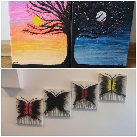 Картина Пеперуди и Ден и Нощ