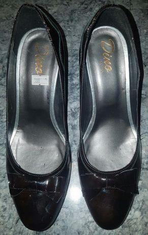 Pantofi din piele 3 perechi nr. 38, noi sau aproape noi