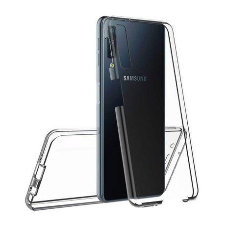 Samsung A10 A20E A21S A30S A40 A50 A70 Husa 360 Plastic Fata + Spate