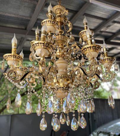 Люстры. Versace. Богемское стекло