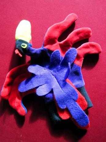 Птица тукан, ръкавица-кукла за куклен театър и игра