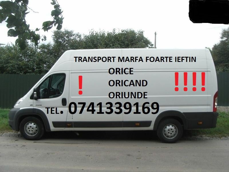 Transport la preturi mici,marfa.mobila.electrocasnice.etc.manipulanti