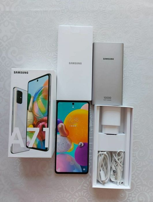 Samsung A71 128gb-late Алмалыбак - изображение 1