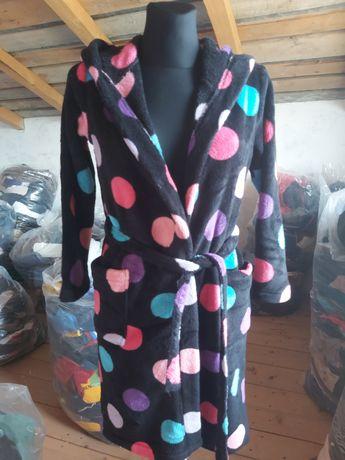 Depozit haine second hand vinde halate baie plușate/cocolino