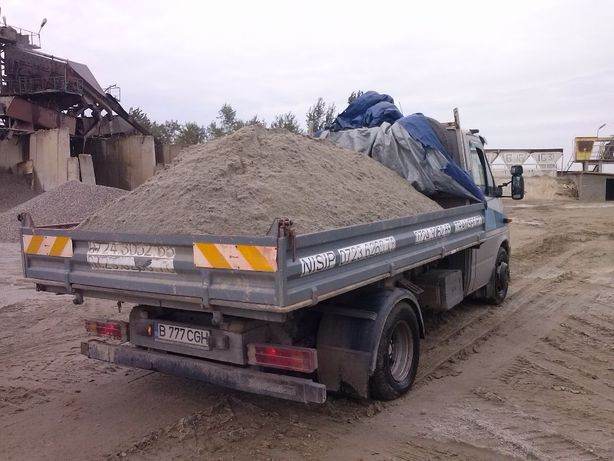 NISIP, Pietris, Balastru, Materiale constructii_Transport