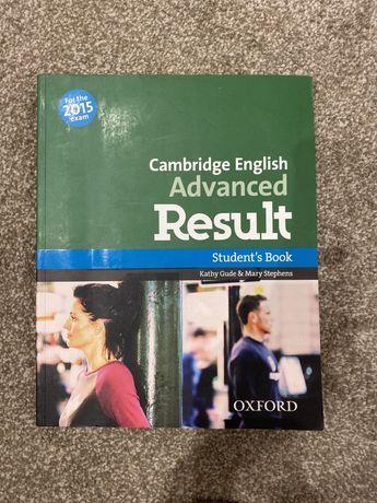 Cambridge English Advanced Result книга для изучения английского языка