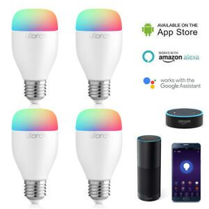 Bec LED color Smart Home Utorch Xiaomi Mijia Philips Hue Amazon Google
