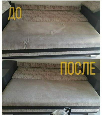 Химчистка мебели низкие цены. Профессиональное оборудование