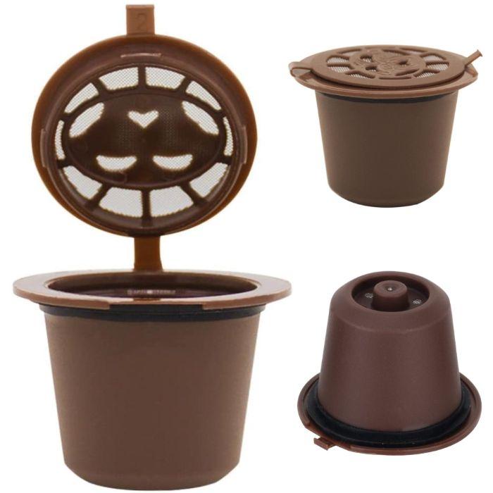 Капсула за многократно ползване за кафемашини Nespresso до 100 кафета