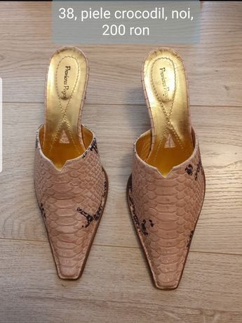 Pantofi piele diverse modele