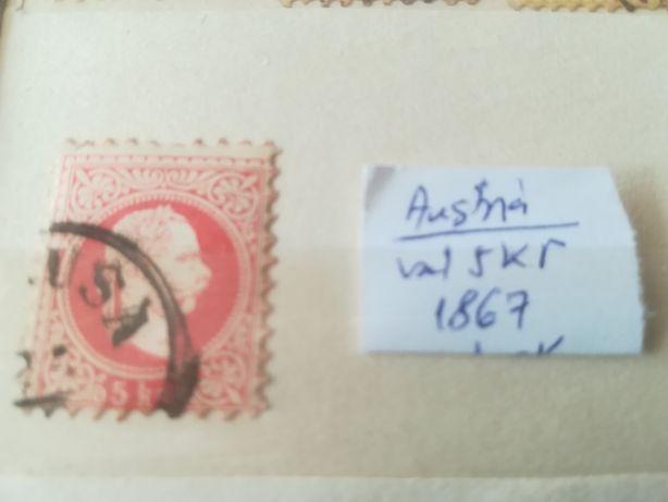Austria Franz Josef-1867 - 5 kr.