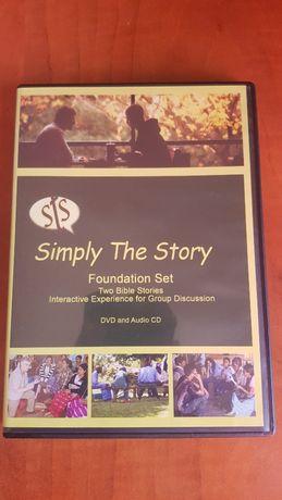 Documentar BIBLIC : Simply the Story (Foundation Set CD + DVD) 2012