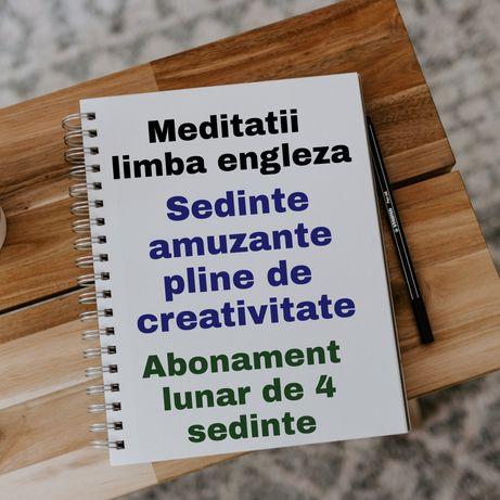 Meditații limba engleză