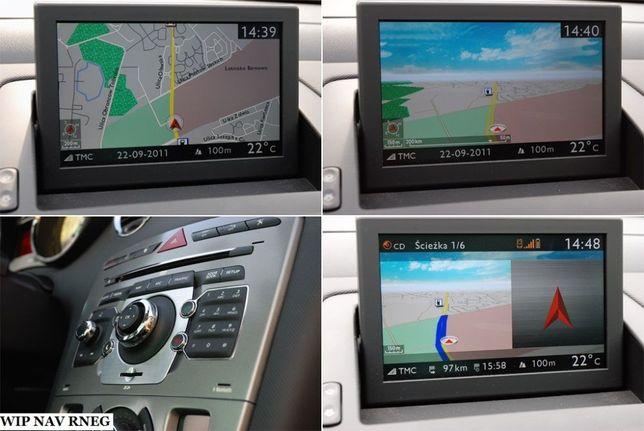 CITROEN CD HARTI Navigatie RT3 CITROEN C2 C3 C4 C5 C6 C8 Europa Roman