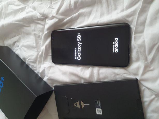 Samsung s8 plus nou! Full box! 64 gb,black,schimb cu bancnote centenar