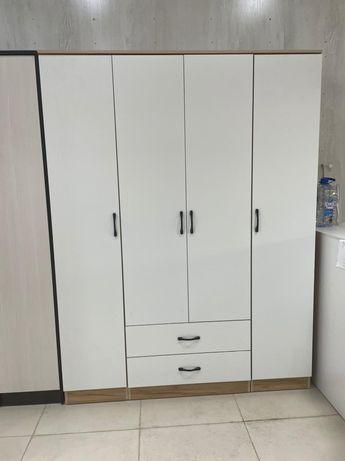 Шифоньер четырёхдвеный (шкаф) с доводчиками дешевле чем ARMADA