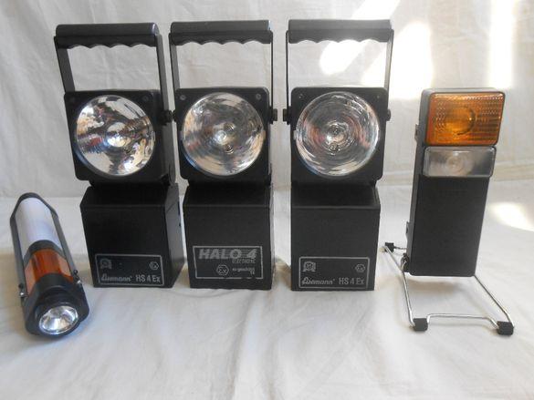 Немски прожектори и сигнални предупредителни фенери