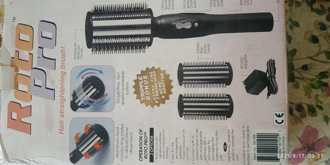 Щетка фен для укладки и выпрямления волос