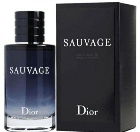 Sauvage Dior 100ml Парфюм мужской отличный аромат по доступной цене