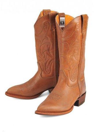 Дамски ботуши естествена кожа Frye Chocolate Brown Leather Boot